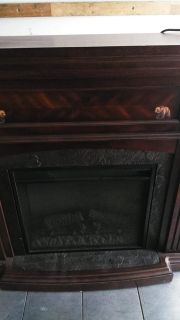 Stand up fireplace 41*43 in