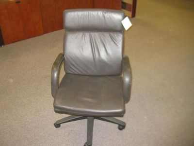 $125, Leather office chair