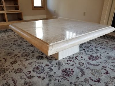 Solid Marble & Granite Coffee Table