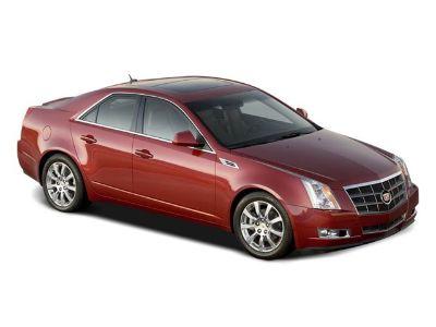 2008 Cadillac CTS 3.6L DI (Crystal Red Tintcoat)