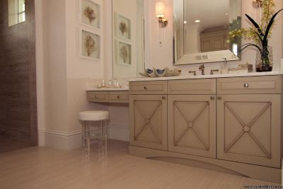 Master bath vanity cabinets fit all budgets Clearwater Beach, FL.
