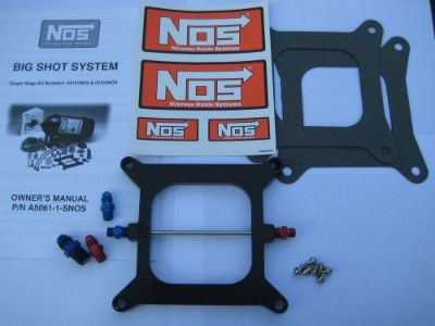 Buy NOS/NITROUS/NX/ZEX/EDELBROCK/ NOS BIGSHOT HOLLEY 4150 PLATE KIT 175-400HP-NEW! motorcycle in North Attleboro, Massachusetts, United States, for US $96.79