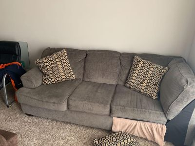 Partial couch sectional