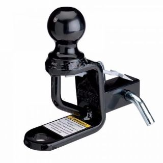"Buy MOOSE 1.25"" HITCH 3"" RISE W/ BALL MOUNT ATV HONDA POLARIS YAMAHA KAWASAKI CAN AM motorcycle in Miami, Florida, United States, for US $46.95"