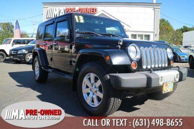 2013 Jeep Wrangler Unlimited Sahara (Black)