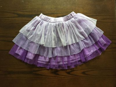 Girls Justice size 7 skirt