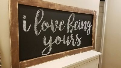Variety of Signs and Chalkboards