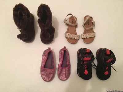 Toddler Girl Size 6 Variety Shoes