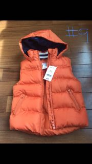 12 mo puffer vest new with tags
