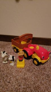 Little people tractor lot