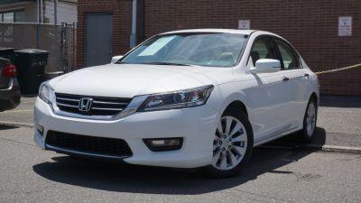 2015 Honda ACCORD SEDAN 4dr I4 CVT EX-L (White)