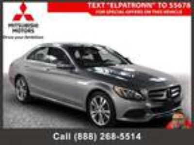 $24994.00 2016 MERCEDES-BENZ C-Class with 27490 miles!