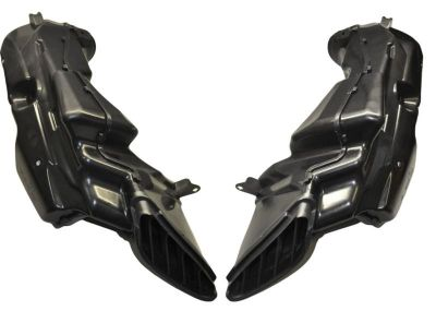 Buy SUZUKI GSXR 600 750 2008 2009 2010 AFTERMARKET RAM AIR DUCTS LEFT & RIGHT motorcycle in Fort Lauderdale, Florida, US, for US $75.00