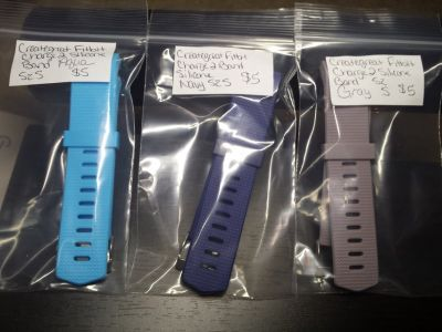 Creategreat fitbit charge 2 bands. Silicone size small