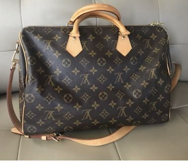 Louis Vuitton SPEEDY BANDOULI RE 35