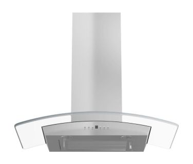 NEW! ZLINE 36 in. Convertible Wall Mount Range Hood in Stainless Steel and Glass; Model KZ-36