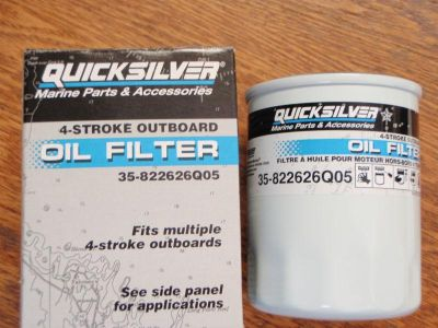 Sell OIL FILTER MERCURY MARINER YAMAHA HONDA 35-822626Q05 OUTBOARDS SEE LISTING PART motorcycle in Osprey, Florida, US, for US $6.95