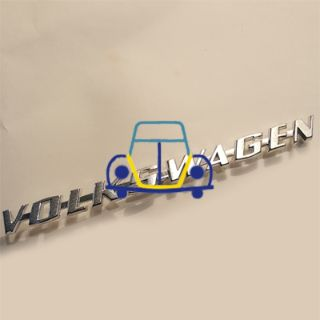 VW Karmann Ghia Trunk Emblem