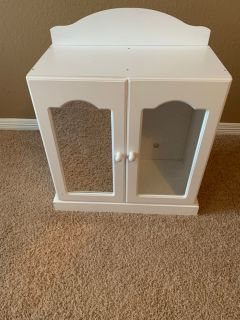 Armoire for American Girl style dolls