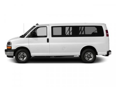 2018 Chevrolet Express Passenger LS (Summit White)