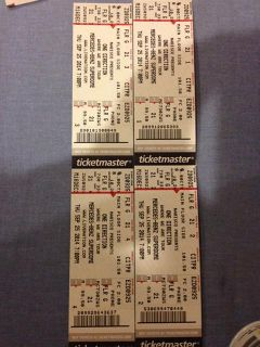 $1,000, One Direction Main Floor Tickets4