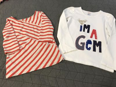 Size 7 Girls Gymboree tops