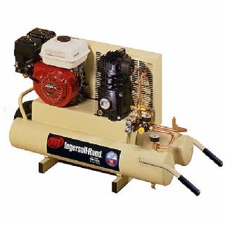 new ingersol rand gas air compressor