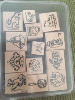Toy box stamps