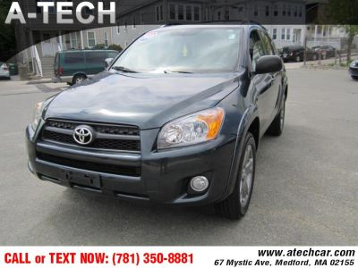 2009 Toyota RAV4 Sport (Pacific Blue Metallic)