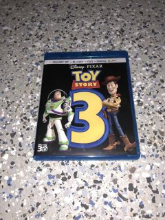 Toy story 3 Blu-ray dvd digital copy and special extra dvd