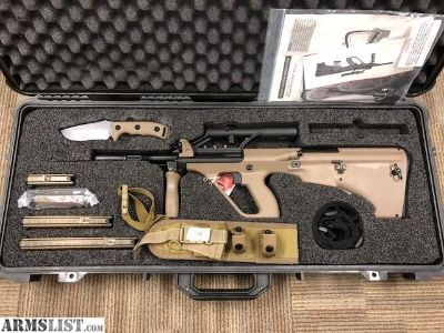 For Sale: Microtech Small Arms Research MSAR STG-556 5.56 *Limited Edition Tan*