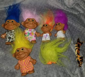 Trolls, they have a carrying case $6