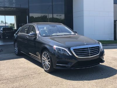 2015 Mercedes-Benz S-Class S550 (Anthracite Blue Metallic)