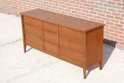 MCM Walnut Credenza Sideboard or Dresser