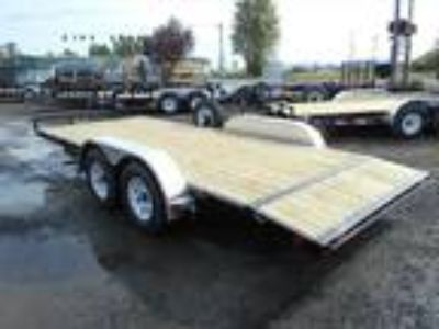 "2020 PJ Trailers Carhauler C4 7' X 16' 7K 4"" Channel W/Dove"