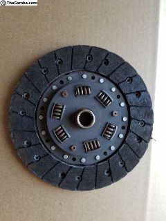 Used,914 Sachs 215mm clutch disc/pressure plate