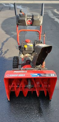 "Troy-Bilt Storm 2410 24"" Snowblower"