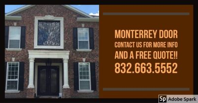 Home or Business Wrought Iron Doors