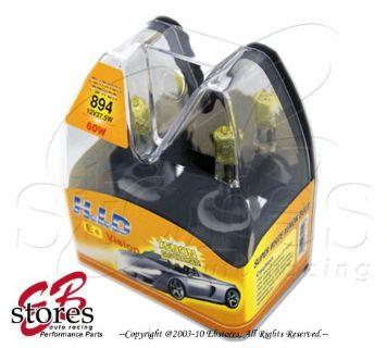 Sell Retail Box 12V 37.5w 894 Yellow Xenon HID Foglight Bulb motorcycle in La Puente, California, United States