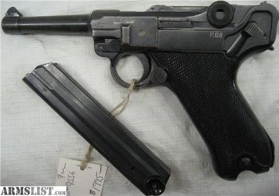 For Sale: WW2 German Mauser Luger 1941 Black