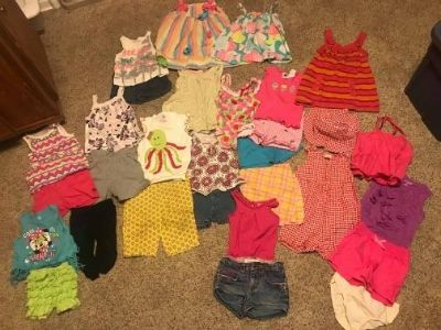 18 month 24 month summer girl lot