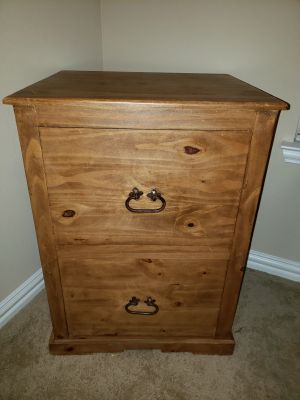 Rustic filing cabinet/storage