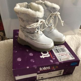 Totes size 7 Toddler Waterproof Rain/Snow Boots