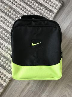 Nike small neon lunch box