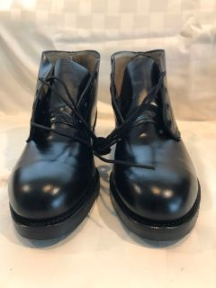 Vintage Military Air Force Issued Leather Chukkas / Ankle Boots Sz 8