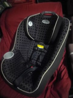 Graco Contender * Car Seat Black Carbon seating direction rear/forward