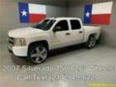 2007 Chevrolet Silverado 1500 07 Silverado 1500 2WD 26in Wheels Dual Exhaust
