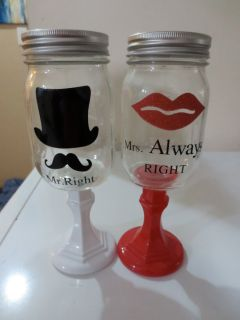 MASON JAR CUPS-NEW!