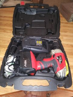 Cordless drill with batterie & charger