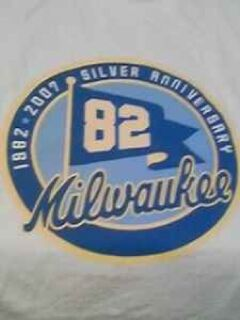 Milwaukee Silver (25 year) Aniversary T shirt